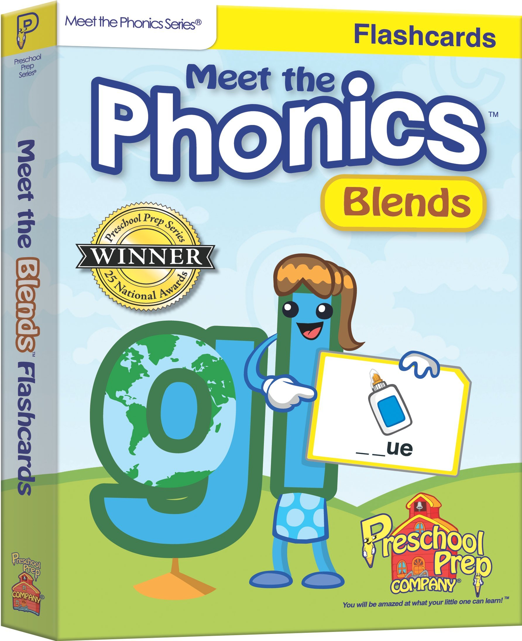 Read Online Meet the Phonics - Blends - Flashcards pdf epub