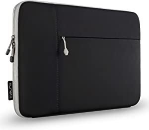 Runetz MacBook Pro 16 inch Sleeve Neoprene 2020 2019 Laptop Sleeve Notebook Cover Bag Case with Accessory Pocket for New 16 inch MacBook Pro, Black