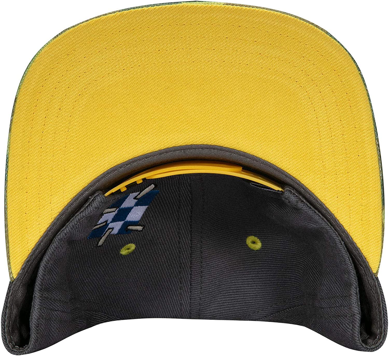 JINX Overwatch Ultimate Junkrat Snapback Baseball Hat Multi-Colored One Size Yellow