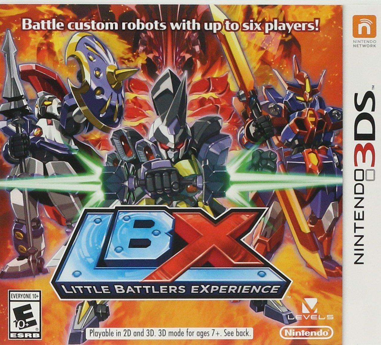 amazon com lbx little battlers experience nintendo 3ds