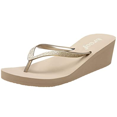 Reef Womens krystal star Open Toe Casual Taupe Size 110