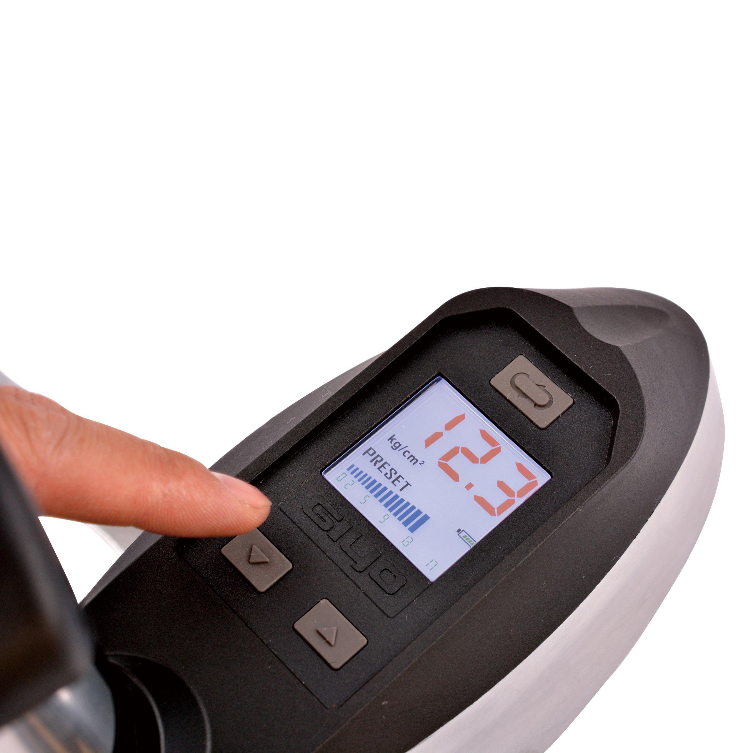 GIYO LCD Digital gauge Floor pump [GF-14D] UK / US / Presta correspondence by GIYO (Image #1)
