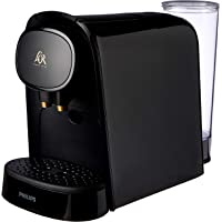 Philips L'OR Barista Piano Noir Double Shot Capsule Coffee Machine with Adjustable Coffee Volumes, Dual Capsule Recognition & Full Coffee Menu, Black, LM8012/60