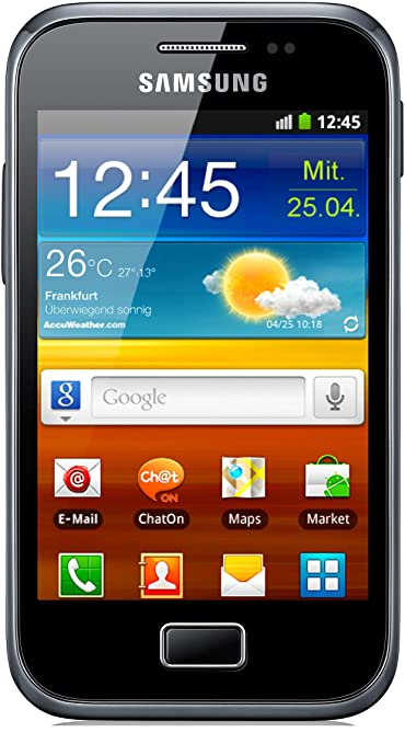 13 opinioni per Samsung Galaxy Ace Plus S7500 Smartphone, Touchscreen, 5 Megapixel, Android 2.3-