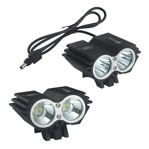 ALED Light® extraíble Bike Lights-Juego de bombillas LED 2 luces para bicicleta luz