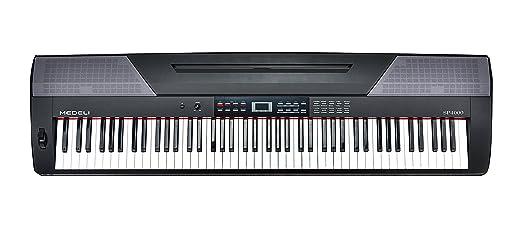 2 opinioni per Medeli SP4000 tastiera elettronica con 88 brancolare, Nero