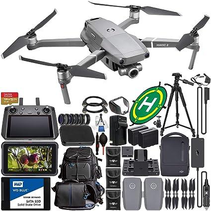 Amazon.com: DJI Mavic 2 Zoom Foldable Quadcopter & Fly More ...