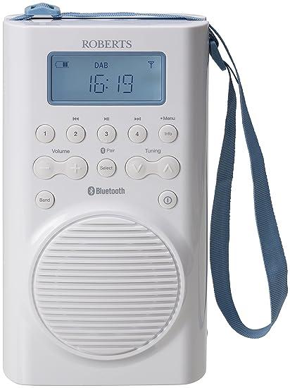 8ac45b5d822b Roberts Radio Splash DAB DAB+ FM RDS Radio with Added Bluetooth Playback   Amazon.co.uk  TV
