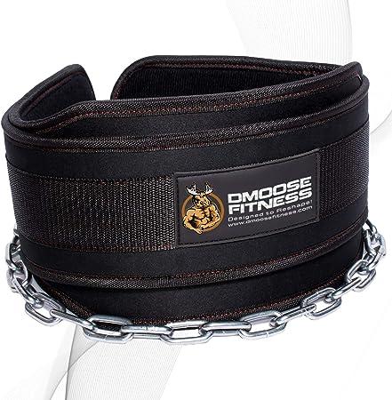 side facing dmoose fitness dip belt
