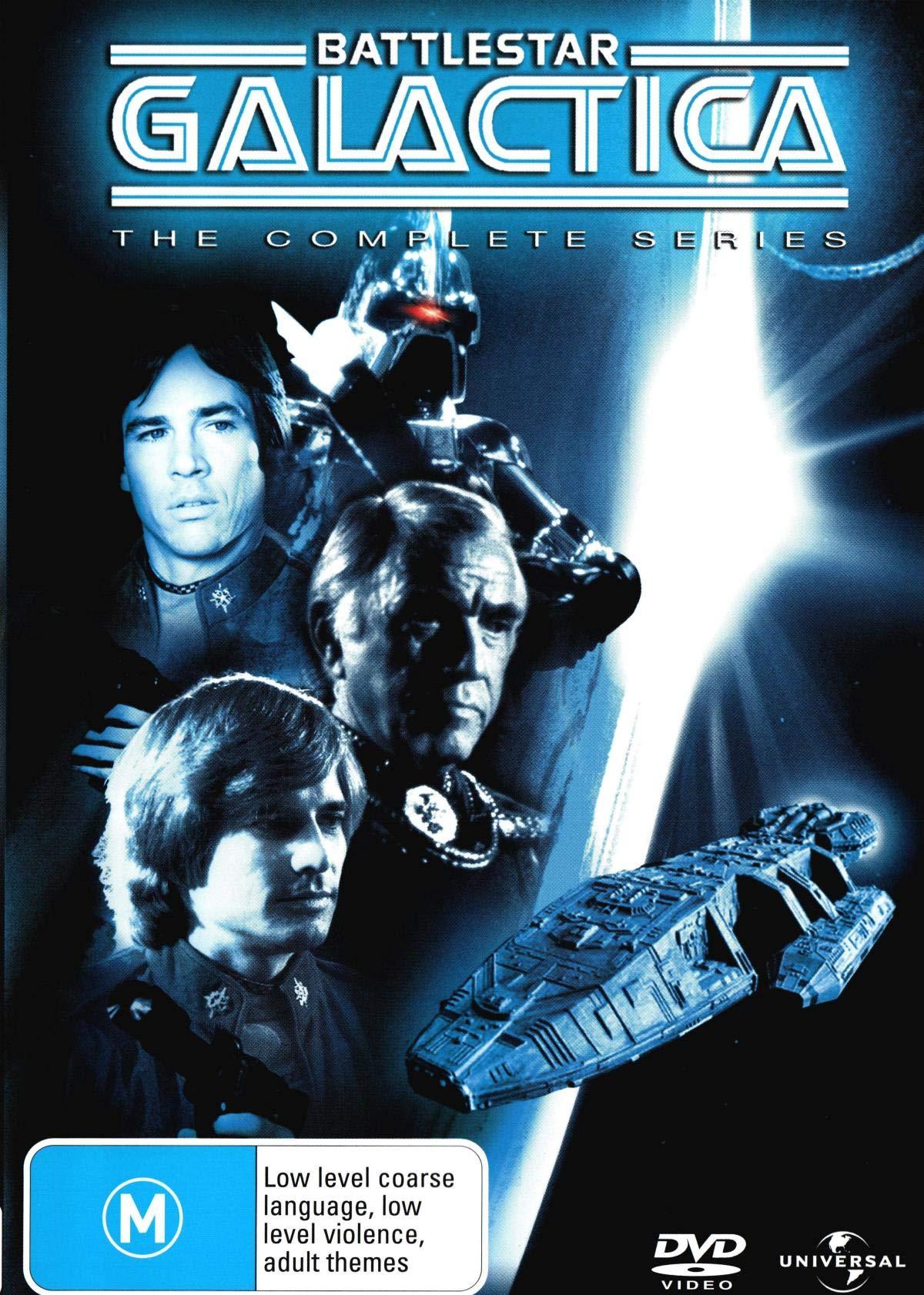 Battlestar Galactica - Complete Series - 6-DVD Set [ NON-USA FORMAT, PAL, Reg.2.4 Import - Australia ]