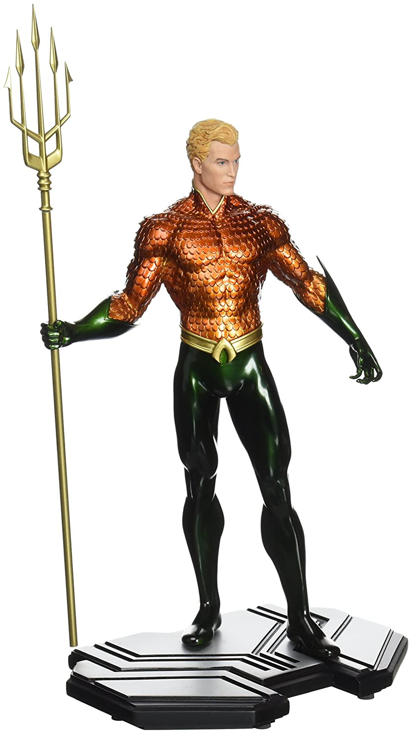 DC Comics Icons Statua Aquaman 26 cm Scala 1 6 DC Collectibles
