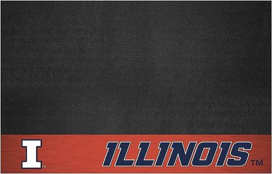 FANMATS NCAA University of Illinois Fighting Illini Vinyl Door Mat