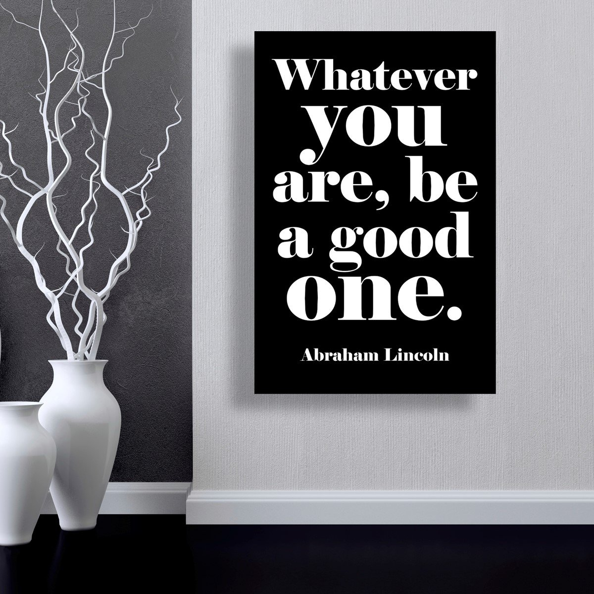 45 x 30 Oliver Gal Be A Good One Canvas Art