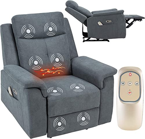 AVAWING Electric Massage Recliner Chair w/Wireless Remote Control