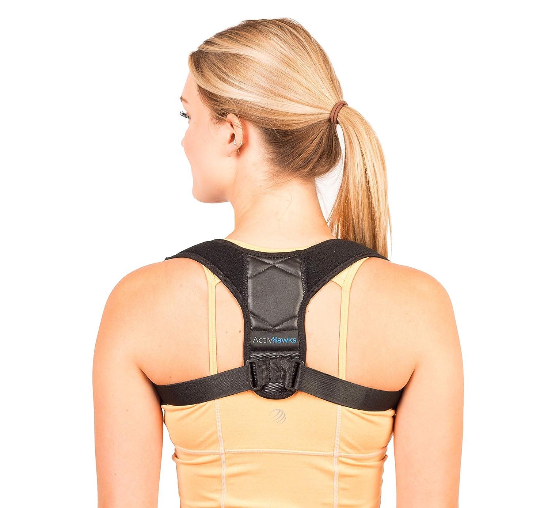 Corrector de Postura Espalda y Hombros Para Hombre y Mujer Talla Única - Faja para Dolor de Espalda - Chaleco Corrector de Postura Enderezador de ...