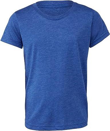 Bella + Canvas - Camiseta Triblend para jóvenes