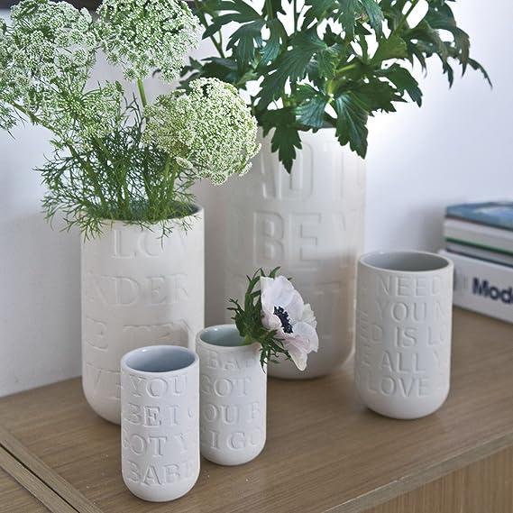 Kähler Design Vase Love Song I Got You Babe Weiß