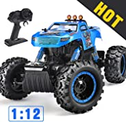 NQD Remote Control Trucks Monster RC Car 1: 12 Scale Off Road Vehicle 2.4Ghz Radio Remote Control Car 4WD High Speed Racing