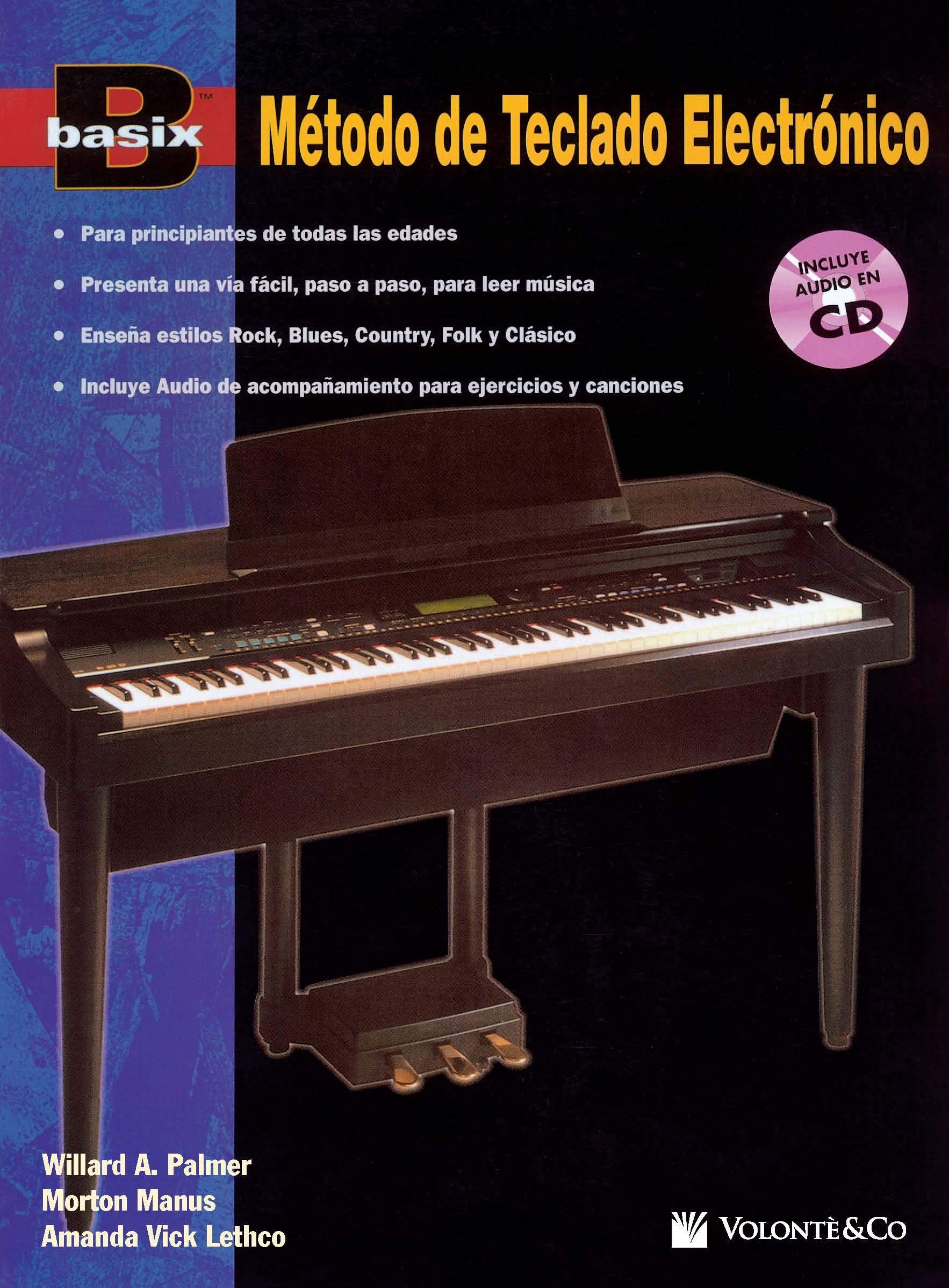 BASIX METODO TECLADO ELECT.+CD: Book & CD: Amazon.es: Palmer ...