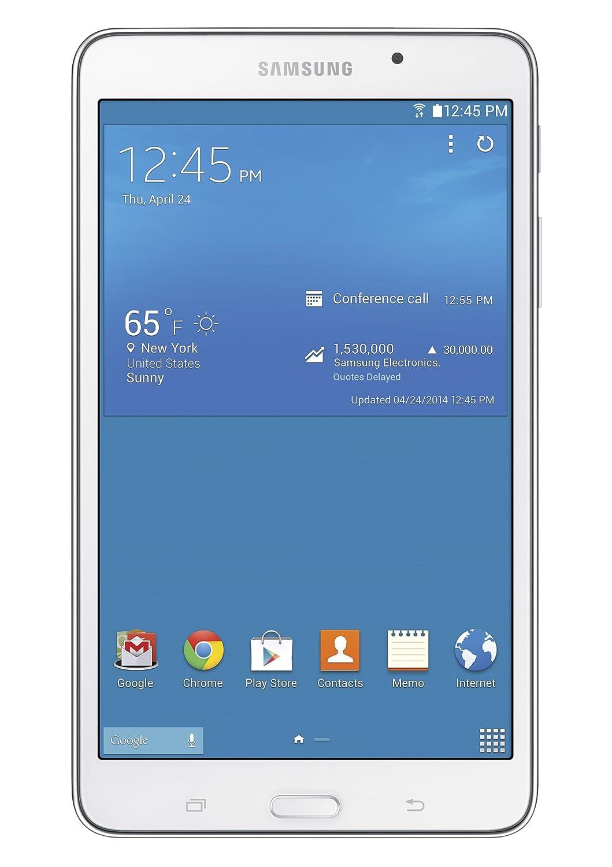 Samsung Galaxy Tab 4 7.0 8GB Color Blanco - Tablet (1,2 GHz, 1,5 GB, 8 GB, MicroSD (TransFlash), Flash, 17,78 cm (7