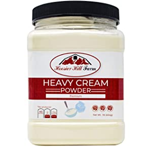 Hoosier Hill Farm Heavy Cream Powder Jar, 1 Pound