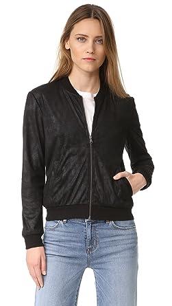 9cf123a887b Amazon.com  Ella Moss Women s Faux Leather Bomber