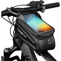 MOZOWO Fietsframetas, waterdichte fietstas fietshouder houder compatibel met iPhone 12 Pro 11 Pro Max XS XR X 8 7 6 6S…