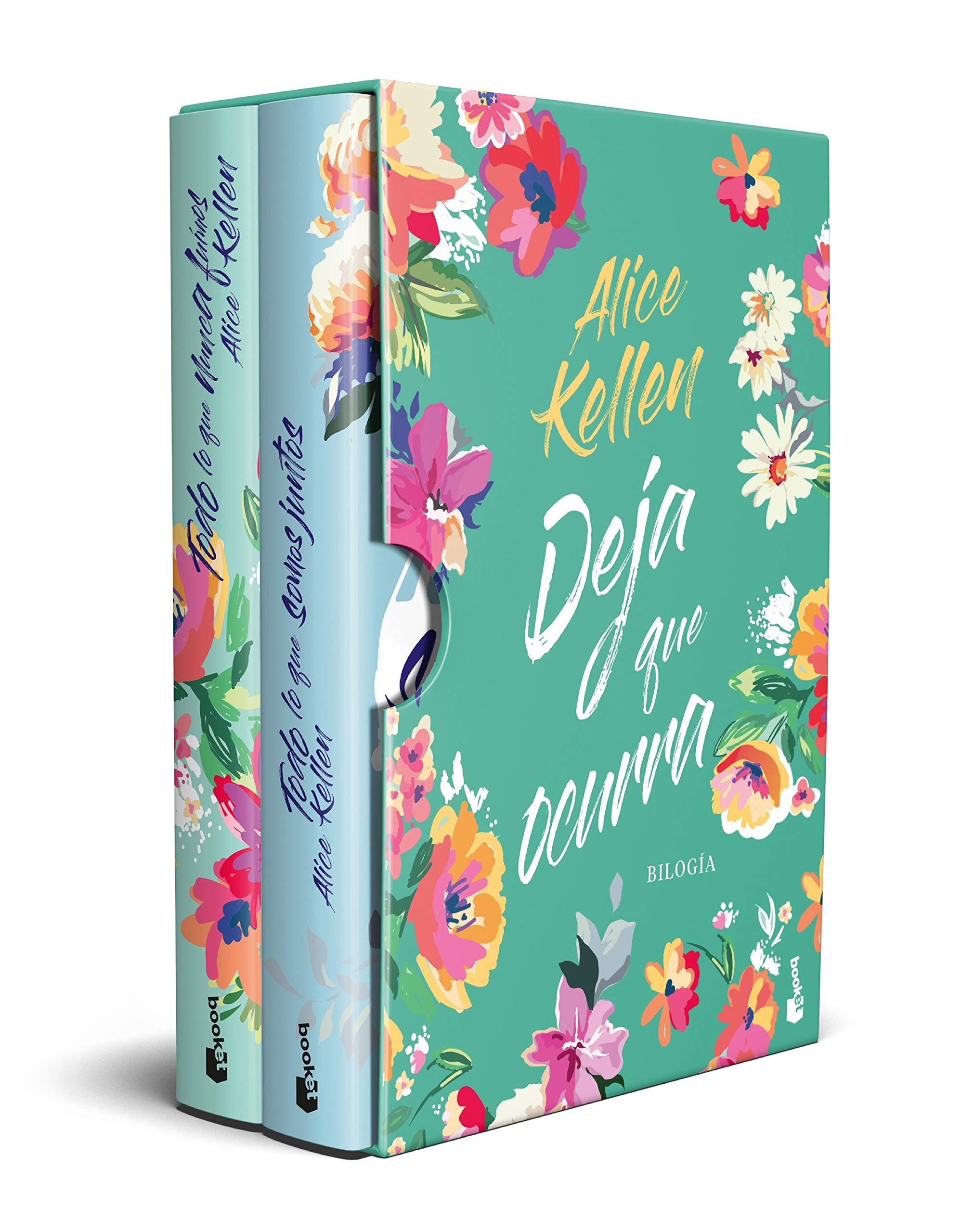 ESTUCHE DEJA QUE OCURRA (ALICE KELLEN) (NF Novela): Amazon.es: Kellen, Alice: Libros