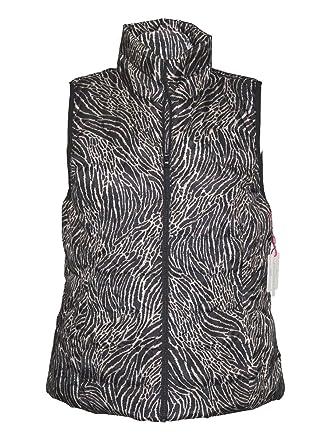 adf20ee22f052f Rafaella - Women s - Animal Print Packable Puffer Vest Jacket at Amazon  Women s Coats Shop