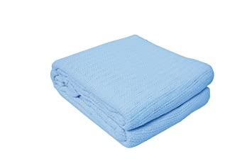thermal cotton blanket. Soft Premium Cotton Thermal Blanket, Queen/King 102x90\ Blanket G
