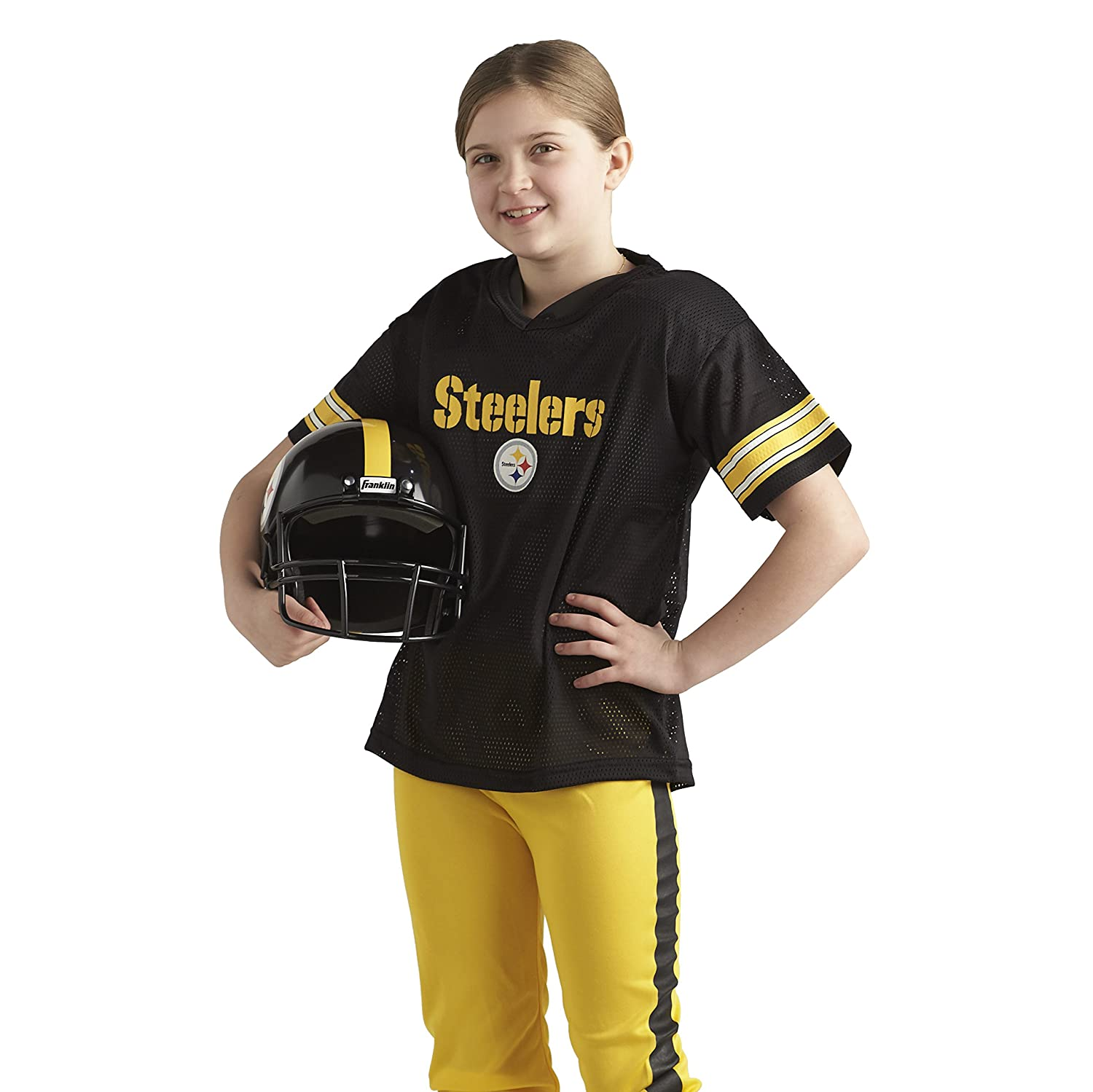 Amazon.com: Franklin Sports NFL Pittsburgh Steelers Deluxe Youth ...
