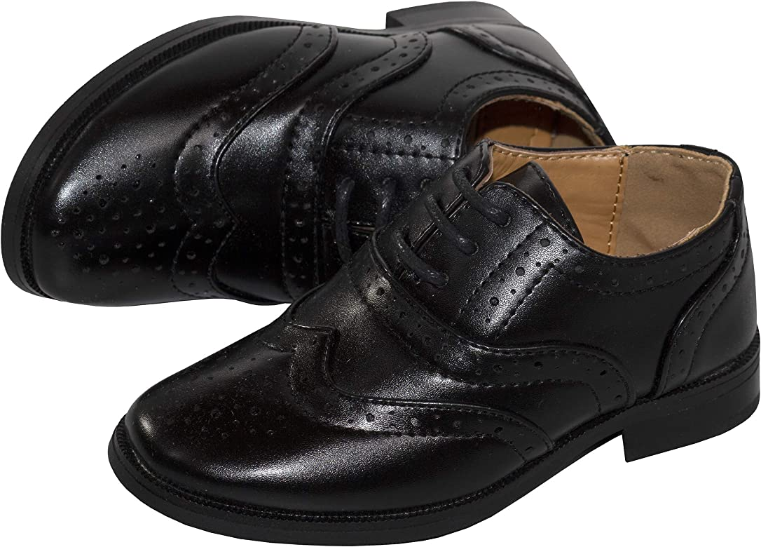 Tip Top Boys Oxford Pattern Lace Up