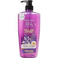 Ginvera World Spa English Shower Scrub Lavendar and Chamomile, 750 ml