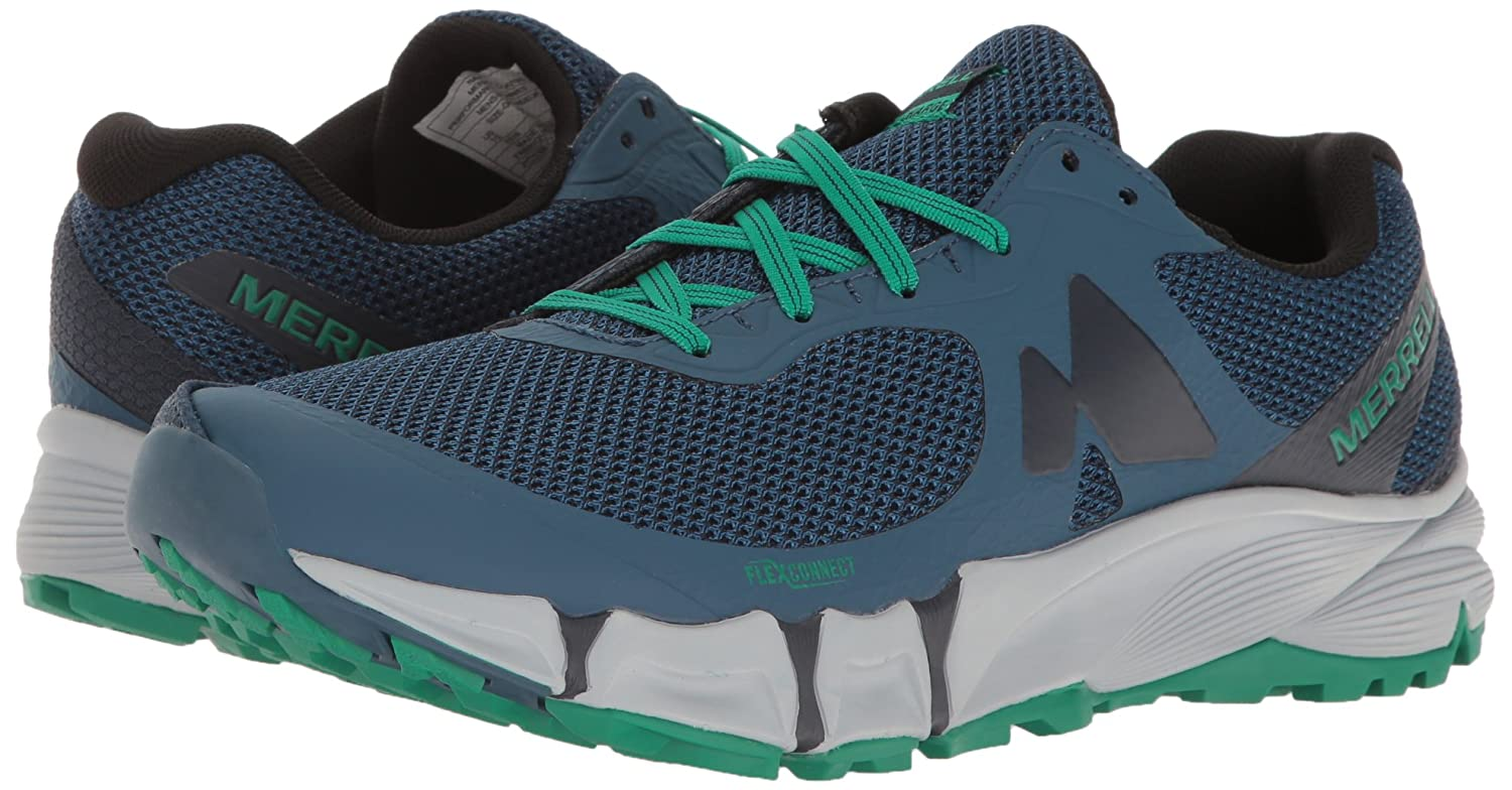 Merrell Men's Agility Charge Charge Charge Flex Trail Runner, Navy, 12 M US dc2161