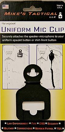 UNIFORM ACCESSORIES Uniform Mic Clip - Microphone Retention Device