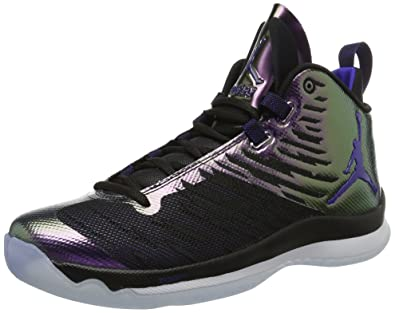 reputable site c6887 39121 NIKE Jordan Super.Fly 5, Scarpe da Basket Uomo, (Black Concord White), 44.5  EU  Amazon.it  Scarpe e borse