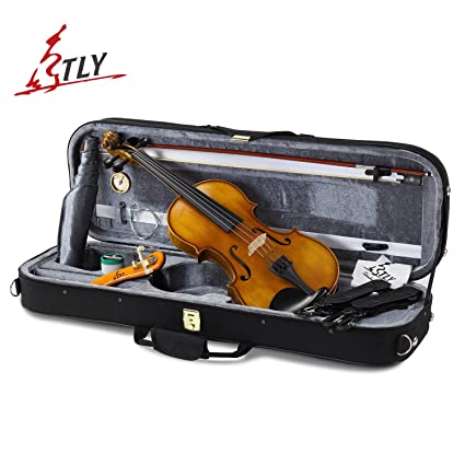 Violin Parts & Accessories Musical Instruments Gentle Violin Head Maple Neck Hand Carved Maple Wood Violin Ebony Fingerboard Instrument Accessory Part For Training Performance