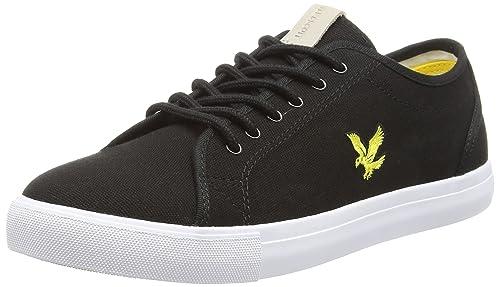 Lyle   Scott Men s Teviot Twill Trainers  Amazon.co.uk  Shoes   Bags d917c41f0