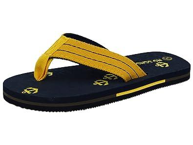 2b5ad92c97170e Kids Boys Girls Unisex Anchor Flip Flop Slip On Toe Post Beach Pool Summer  Sandals Size