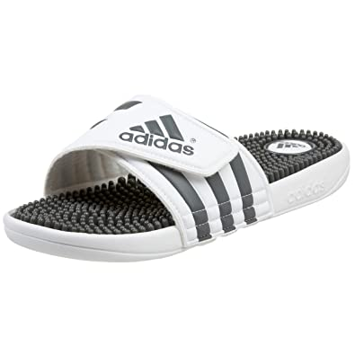 reputable site 34822 43a58 adidas Womens Adissage Slide Sandal,WhiteGraphiteWhite ...