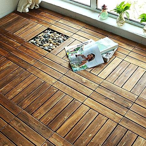 Pavimento in legno Pavimento pavimento balcone Terrazzo Arredo per ...