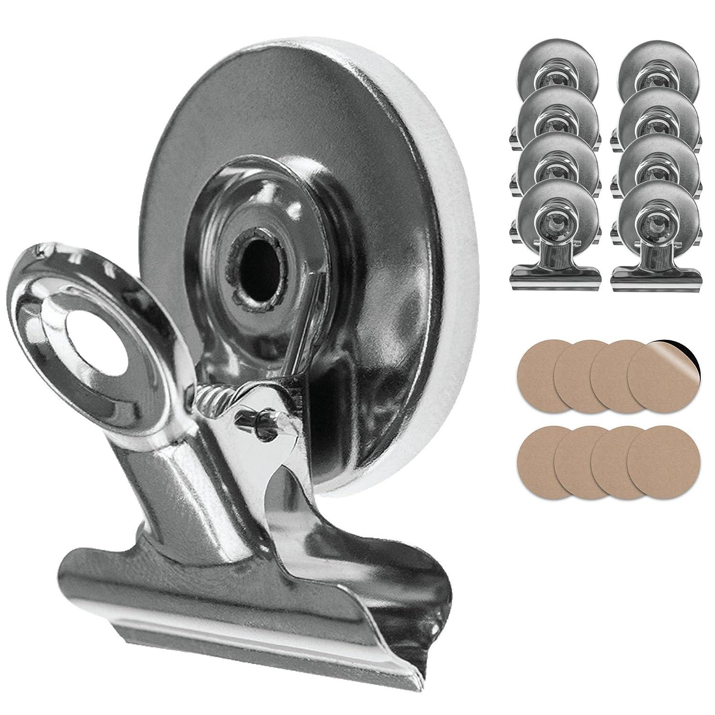 8x starke Magnete · Magnet Clips inkl. Kratzschutz Sticker · super ...