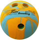 Sportime UltraFoam Bowling Ball, Weighted, Multi-Color, 1 Pound - 019899