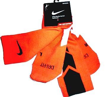 Nike Calcetines De Fútbol Unisex Stadium Crew, color naranja, talla XL: Amazon.es: Deportes y aire libre
