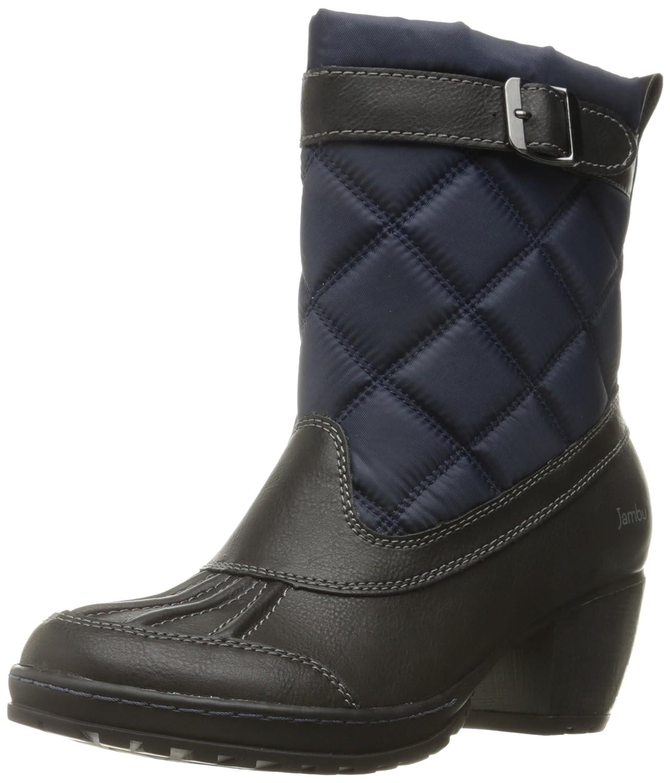 Jambu Women's Dover-Vegan Rain Boot B01C3IE8DG 10 B(M) US|Navy/Black