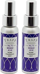 Trapp Home Fragrance Mist, No. 71 Indigo Acai, 2.5-Ounce (2-Pack)