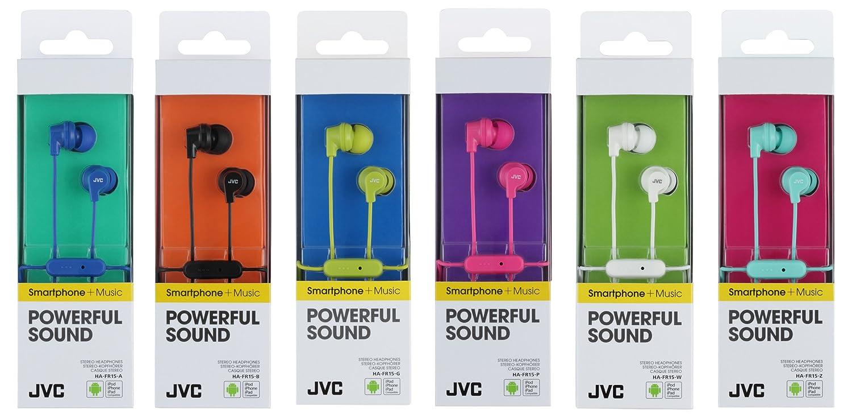 JVC HA-FR15-P-E - Auriculares in-Ear (con Controlador de Llamada) Color Rosa: Amazon.es: Electrónica