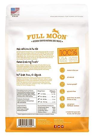 Amazon.com: Delicias para perros Full Moon, totalmente ...