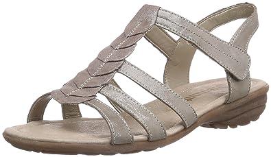 Remonte R3658, Womens Fashion Sandals, Grey (Murmel 42), 10.5 UK