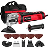 AVID POWER Oscillating Tool, 3.5-Amp Oscillating Multi Tool with 4.5°Oscillation Angle, Variable Speeds and 13pcs…